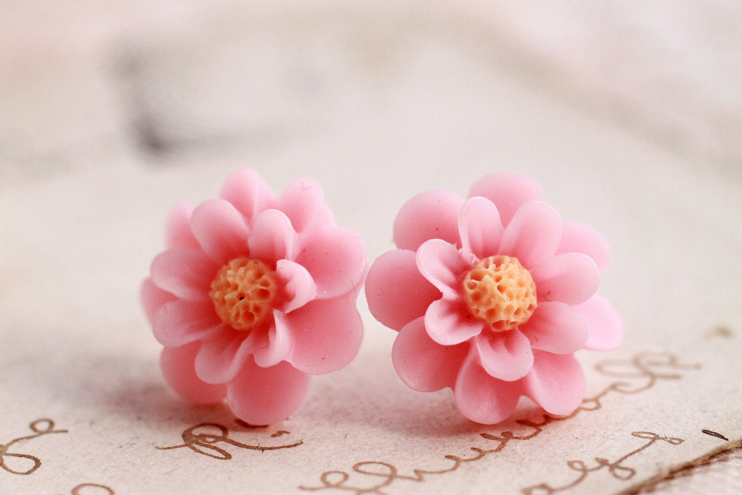 pandora pink studs earrings en estore blossom stud earring oriental